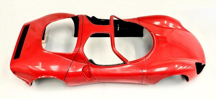 Alfa 33 Stradale Prototipo Body Set Classic Alfa